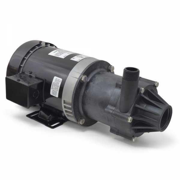 Magnetic Drive Pump for Highly Corrosive, 3/4HP, 230/460V, 3-Phase