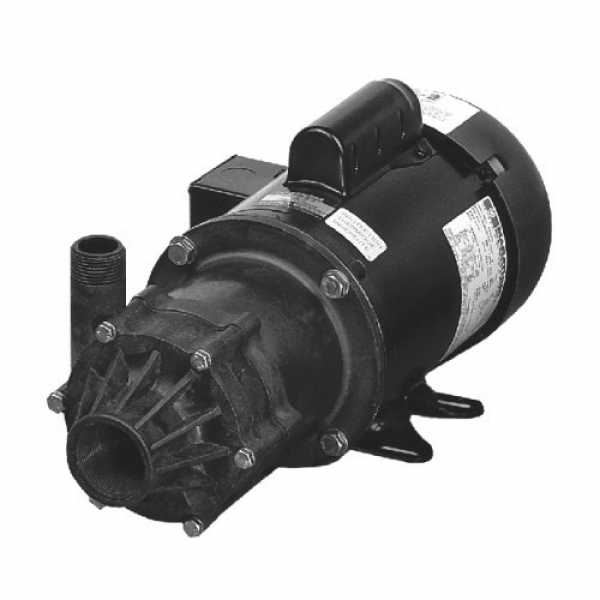 Little Giant 587040 3/4 Hp Highly Corrosive Handling Manual Magnetic Drive Pump, 208v ~ 240v|440v ~ 480v