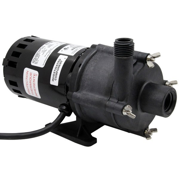 Magnetic Drive Pump for Highly Corrosive, 1/30HP, 115V