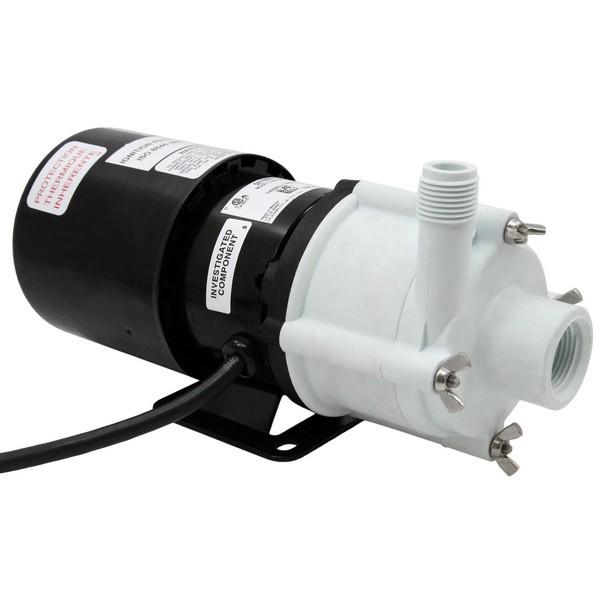 Magnetic Drive Pump for Semi-Corrosive, 1/12HP, 115V
