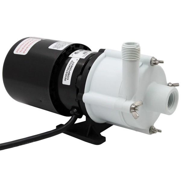 """Little Giant 582002 1/12 Hp Mildly Corrosive Handling Manual Magnetic Drive Pump, 6"""" Cord, 110v ~ 120v"""