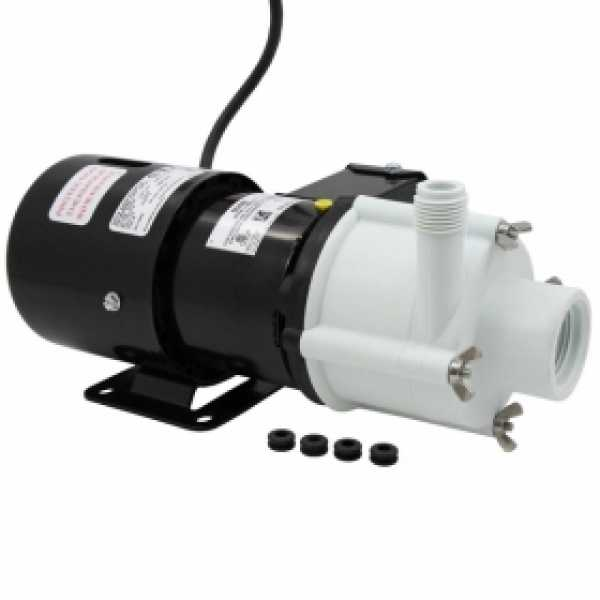 4-MDQ-SC Aquarium Pump, 1/10 HP, 115V
