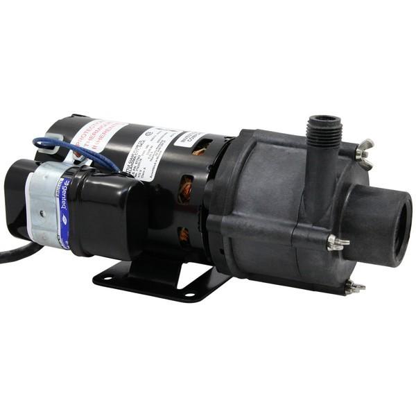 "Little Giant 582603 1/10 Hp Highly Corrosive Handling Manual Magnetic Drive Pump, 6"" Cord, 110v ~ 120v"
