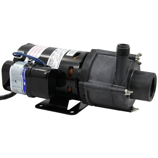 Magnetic Drive Pump for Highly Corrosive, 1/10HP, 115V