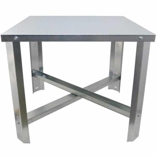 Steel Water Heater Stand for 50-100 gal, 16-gauge