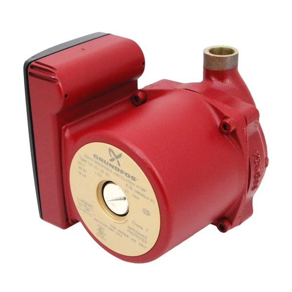 "UP15-18B5 Bronze Circulator Pump, 1/2"" Sweat, 1/25HP, 115V"