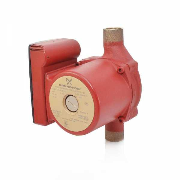"UP15-18B7 Bronze Circulator Pump, 3/4"" Sweat, 1/25HP, 115V"