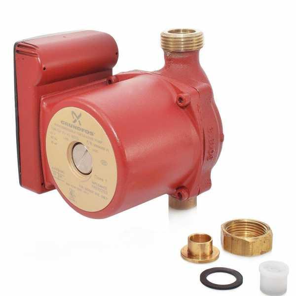 "Grundfos 59896150 Bronze Circulator Pump w/ IFC, 1/2"" Sweat, 1/25HP, 115V"