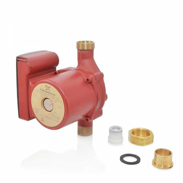 "UP15-42BUC7 Bronze Circulator Pump w/ IFC, 3/4"" Sweat (Union), 1/25 HP, 115V"