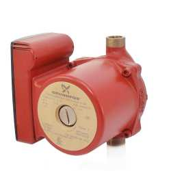 "UP15-10B5 Bronze Circulator Pump, 1/2"" Sweat, 1/25HP, 115V"