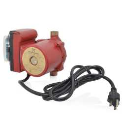 "UP15-10B5/TLC Bronze Circulator Pump w/ Timer & Line Cord, 1/2"" Sweat, 1/25 HP, 115V"