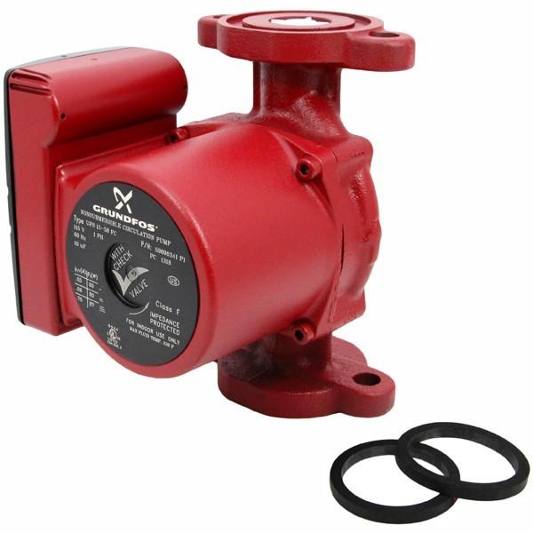 UP15-58FC 3-Speed Circulator Pump w/ IFC, 1/25HP, 115V