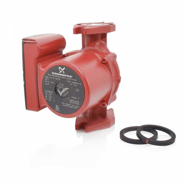 UP15-58FRC 3-Speed Circulator Pump w/ IFC, 1/25HP, 115V