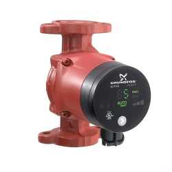 Grundfos 59896879 15-55SF Stainless Steel Circulator Pump w/ IFC, 1/16HP, 115V
