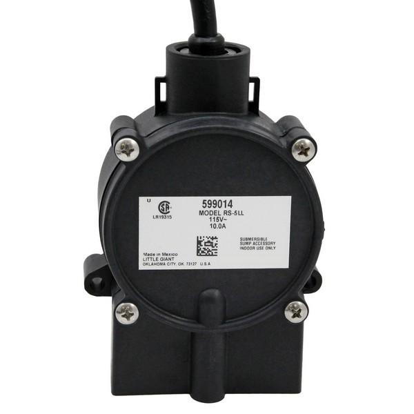 """Little Giant 599014 Piggyback Diaphragm Switch, 18"""" Cord, 110v ~ 120v"""