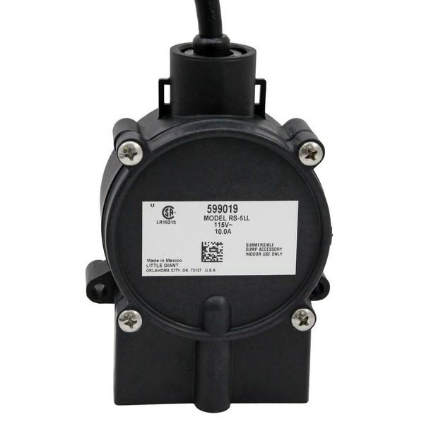 """Little Giant 599019 Piggyback Diaphragm Switch, 25"""" Cord, 110v ~ 120v"""