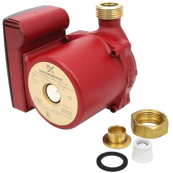 "Grundfos 59896123 Bronze Circulator Pump w/ IFC, 1/2"" Sweat, 1/25HP, 115V"
