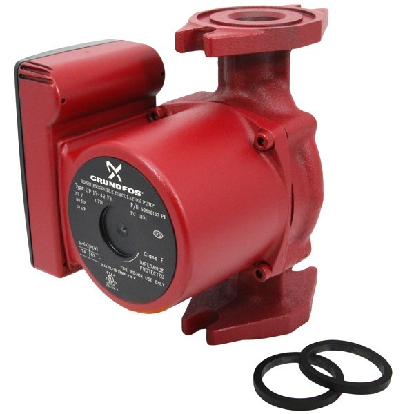 Grundfos 59896167 Circulator Pump, 1/25HP, 115V