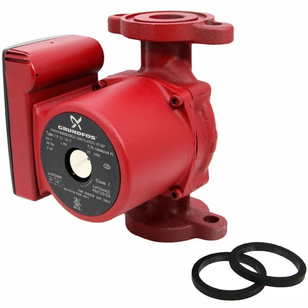UP15-10F Circulator Pump, 1/25HP, 115V