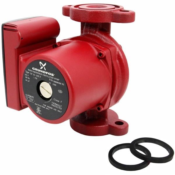 Grundfos 59896300 Cast iron Circulator Pump, 1/25HP, 115V