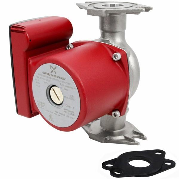 UP15-29SF Stainless Steel Circulator Pump, 1/8 HP, 115V