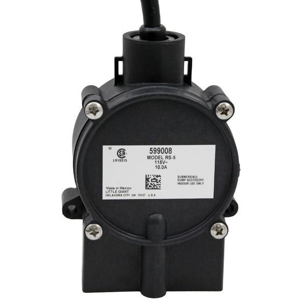 "Piggyback Diaphragm Switch w/ 10"" cord, 1115V"