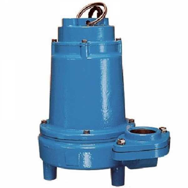 Manual Effluent Pump, 1HP, 20' cord, 208/240V