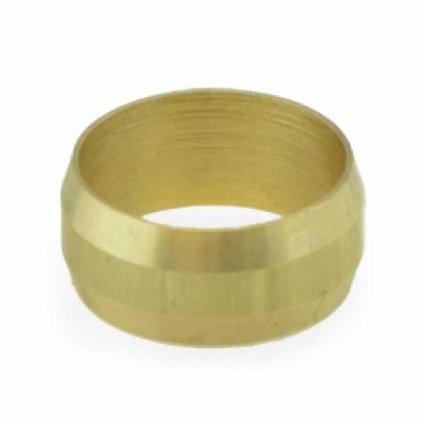 "5/8"" OD Brass Compression Sleeve Lead-Free"