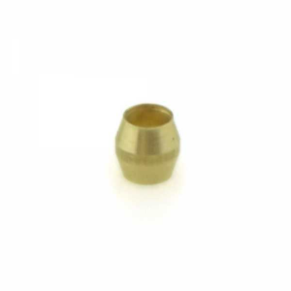 "1/8"" OD Brass Compression Sleeve Lead-Free"