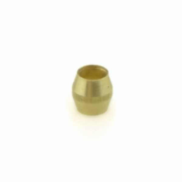 "1/8"" OD Brass Compression Sleeve Lead-Free"