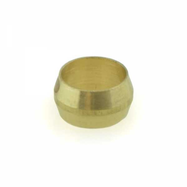 "3/8"" OD Brass Compression Sleeve Lead-Free"