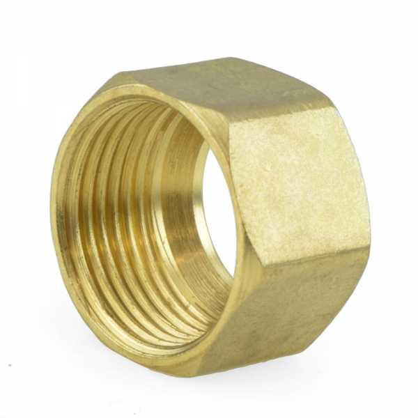 "5/8"" OD Compression Brass Nut"
