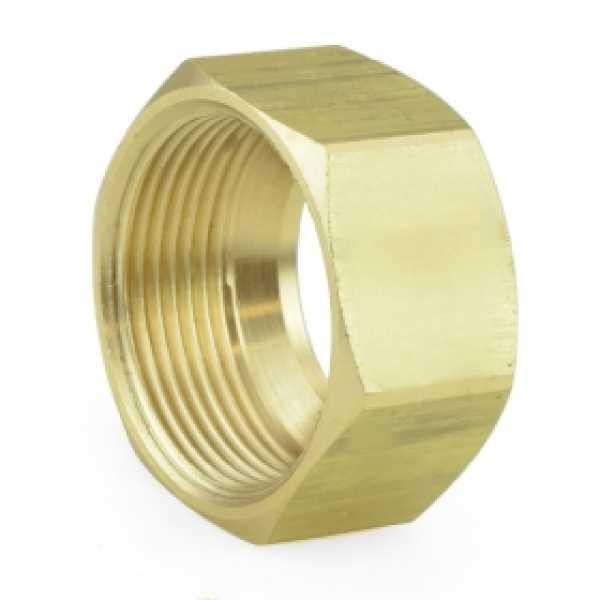 "7/8"" OD Compression Brass Nut"