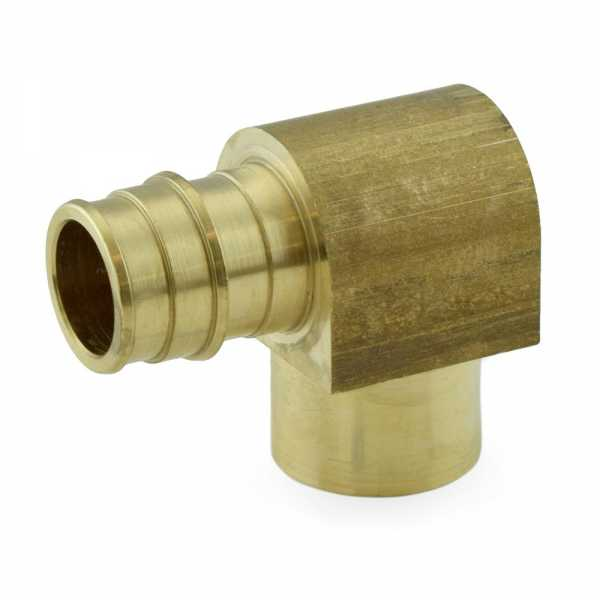 """3/4"""" PEX-A x 3/4"""" Female Sweat Expansion Elbow, Lead-Free"""