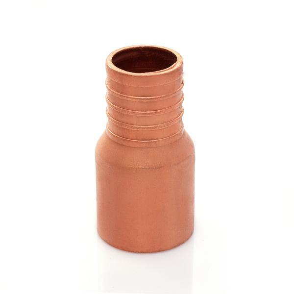 "1"" PEX x 1"" Copper Fitting Adapter, Lead-Free, Copper"