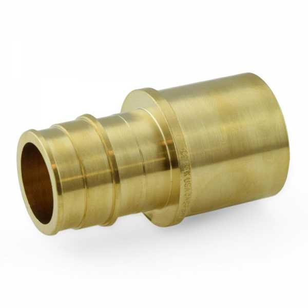 """1"""" PEX Expansion x 1"""" Female Sweat Adapter, Lead Free"""