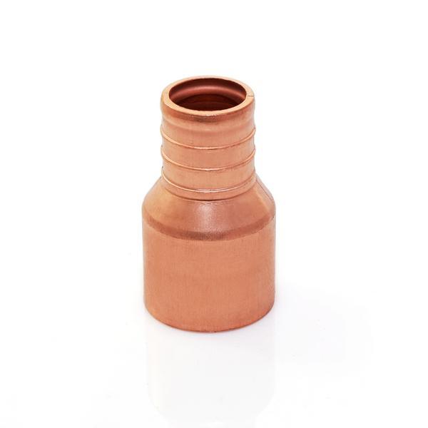"""3/4"""" PEX x 3/4"""" Copper Pipe Adapter, Lead-Free, Copper"""