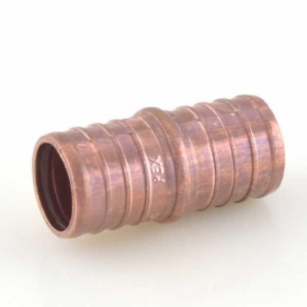 "1"" PEX x 1"" PEX Coupling (Lead-Free Copper)"