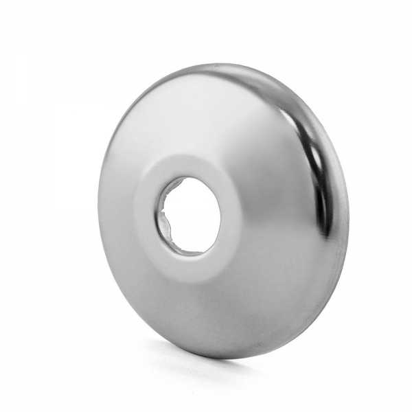 """1/2"""" CTS Stainless Steel Escutcheon for PEX, Copper"""