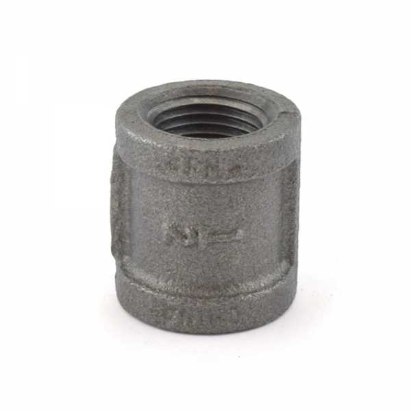 """1/2"""" Black Coupling (Imported)"""