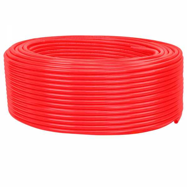 "1/2"" x 500ft PowerPEX Non-Barrier PEX-B Tubing, Red (Expandable, F1960 compliant)"