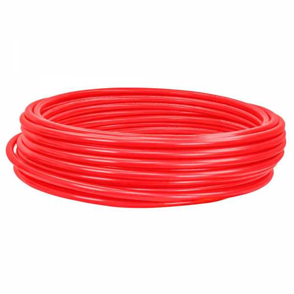 """3/4"""" x 100ft PowerPEX Non-Barrier PEX-B Tubing, Red (Expandable, F1960 compliant)"""