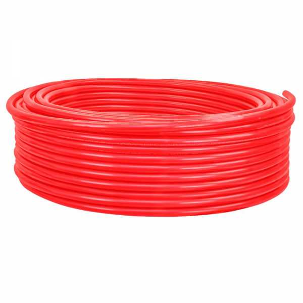 """3/4"""" x 500ft PowerPEX Non-Barrier PEX-B Tubing, Red (Expandable, F1960 compliant)"""