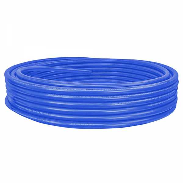 "1"" x 100ft PowerPEX Non-Barrier PEX-B Tubing, Blue (Expandable, F1960 compliant)"
