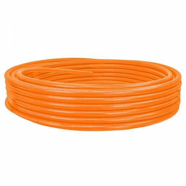"""1"""" x 100ft PowerPEX Oxygen Barrier PEX-B Tubing, Orange (Expandable, F1960 compliant)"""