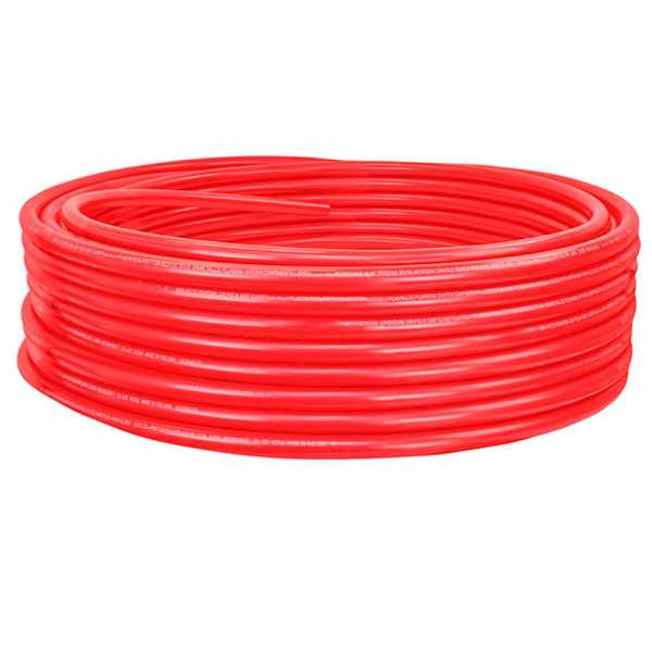 "1"" x 300ft PowerPEX Non-Barrier PEX-B Tubing, Red (Expandable, F1960 compliant)"