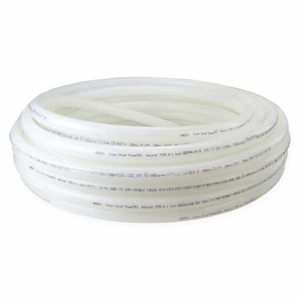 "1"" x 100ft PowerPEX Non-Barrier PEX-A Tubing, Natural"