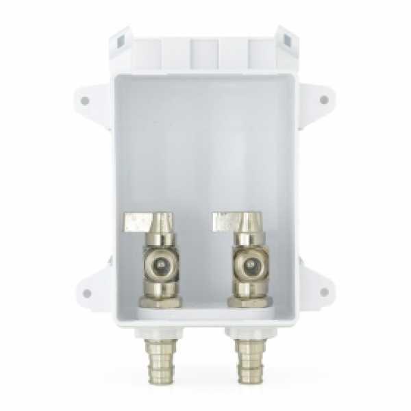 "Ox Box Lavatory Outlet Box, 1/2"" PEX-A (F1960), Lead-Free"