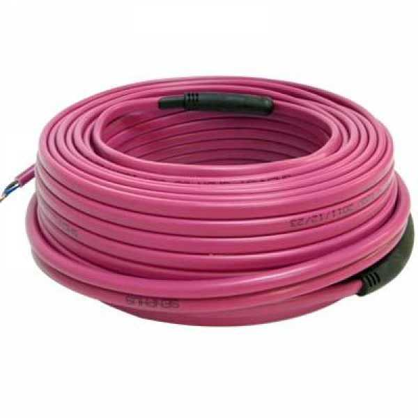 130ft Electric Radiant Floor Heating Cable, 120V