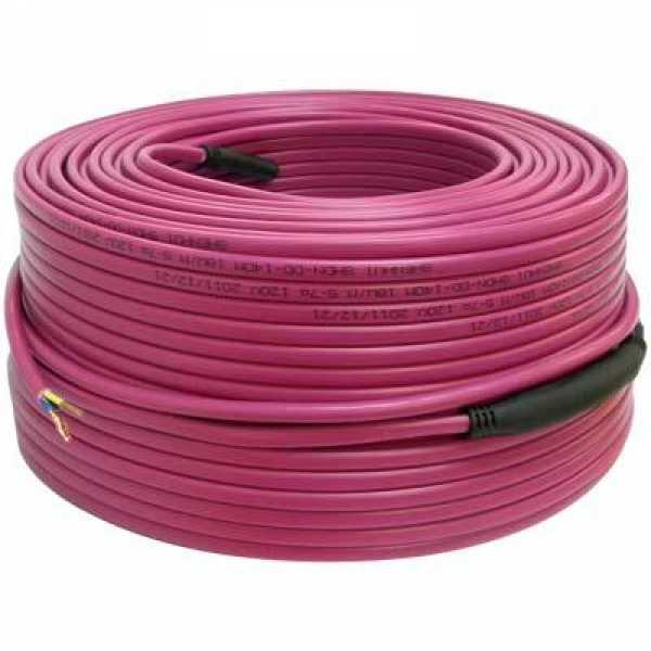 260ft Electric Radiant Floor Heating Cable, 120V
